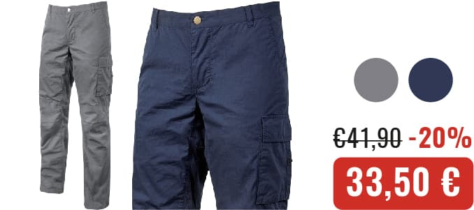 PANTALONI U-POWER BALTIC - Crucitti Workwear