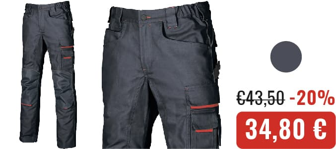 PANTALONI U-POWER FREE - Crucitti Workwear
