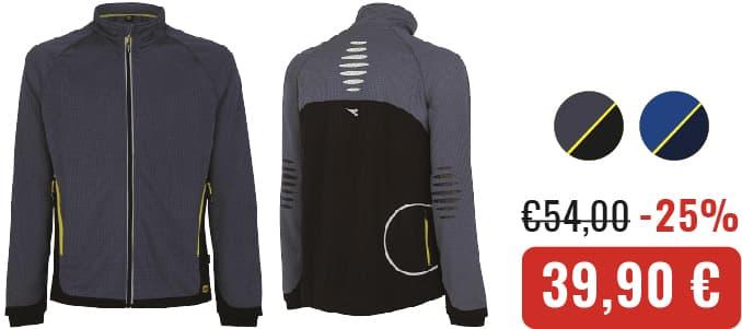 FELPA DIADORA TRAIL - Crucitti Workwear