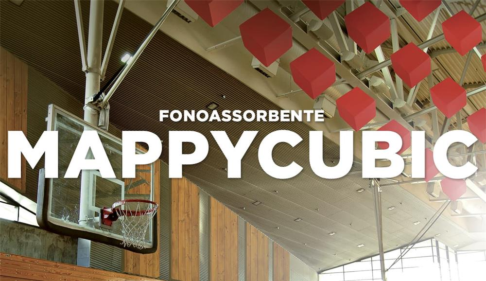 Mappycubic Fonoassorbente Cubico