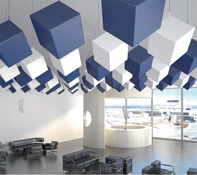 Fonoassorbente Design Cubico