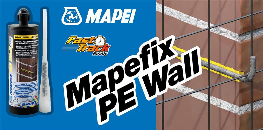 Mapefix PE Wall - Fissaggi Crucitti Work