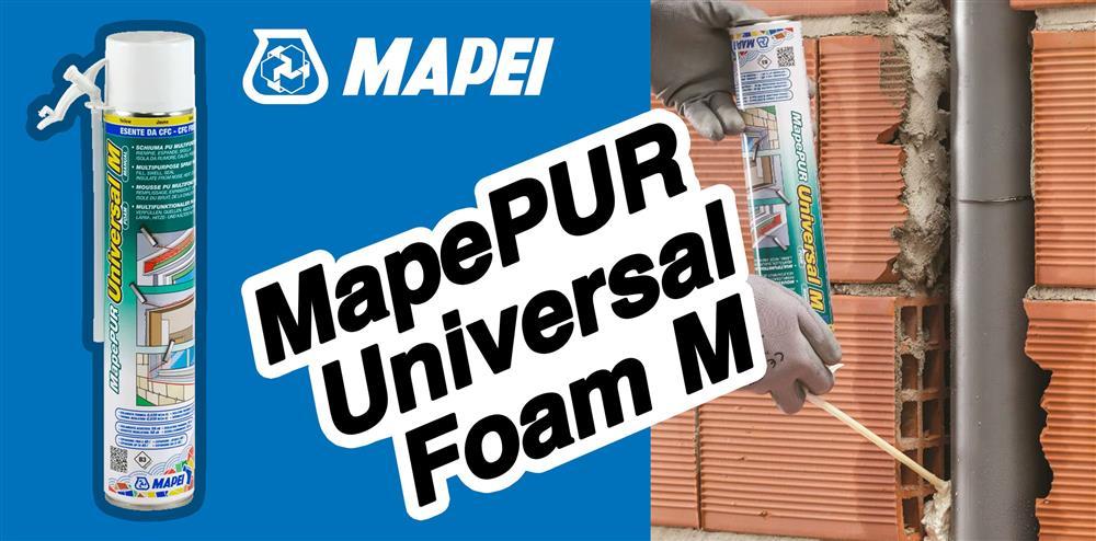 MapePUR Universal M - Schiuma poliuretanica Crucitti Work
