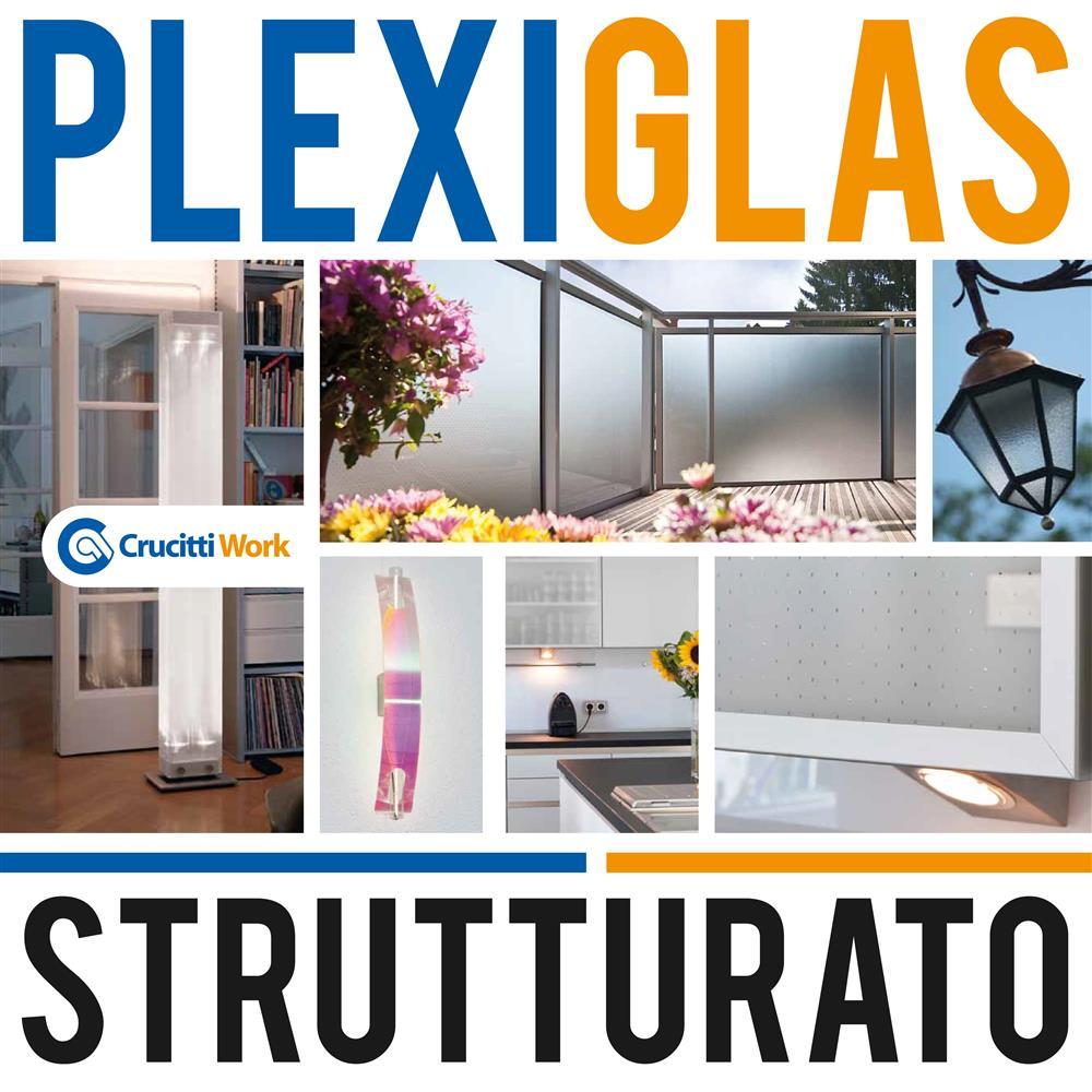 Divisori In Plexiglass Per Esterni plexiglas strutturato - crucitti work