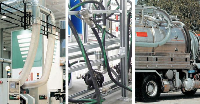 tubi industriali - applicazioni