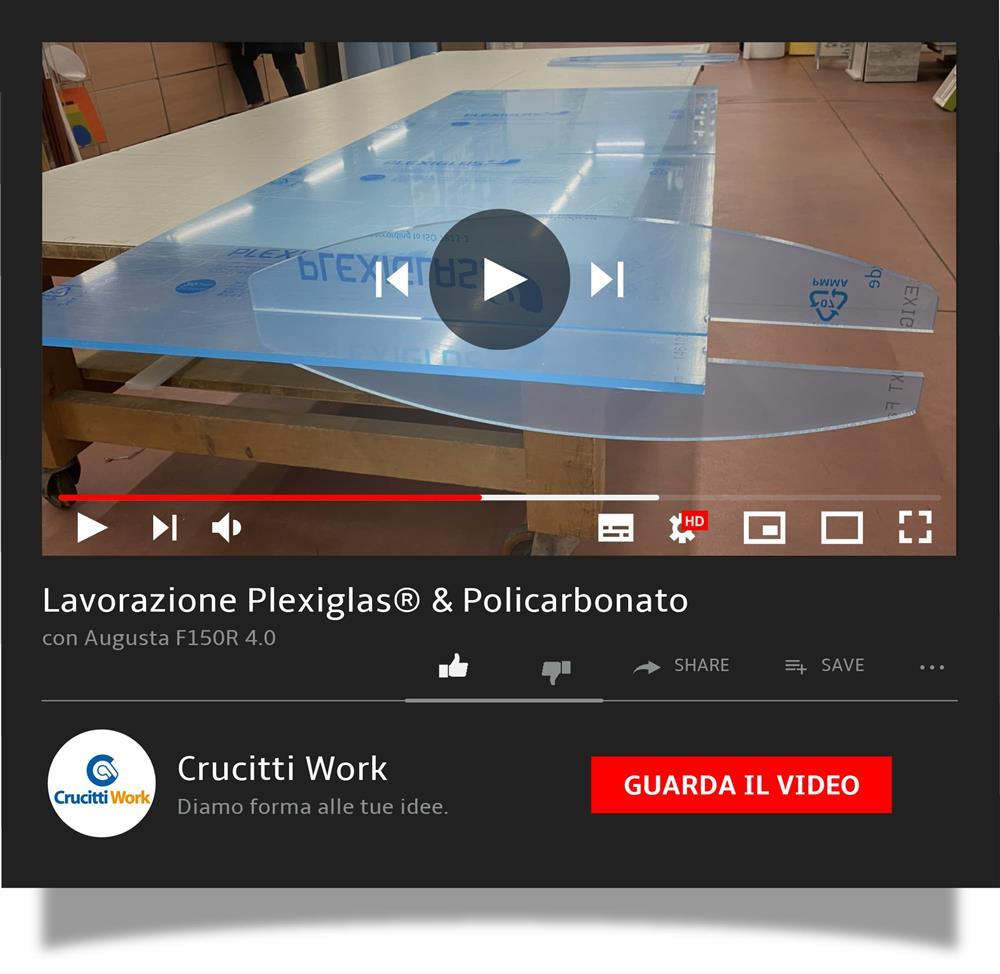 Lavorazione Plexiglas® & Policarbonato